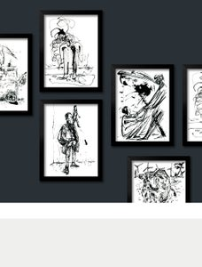 Image of Zeichnung »wie, weiter«