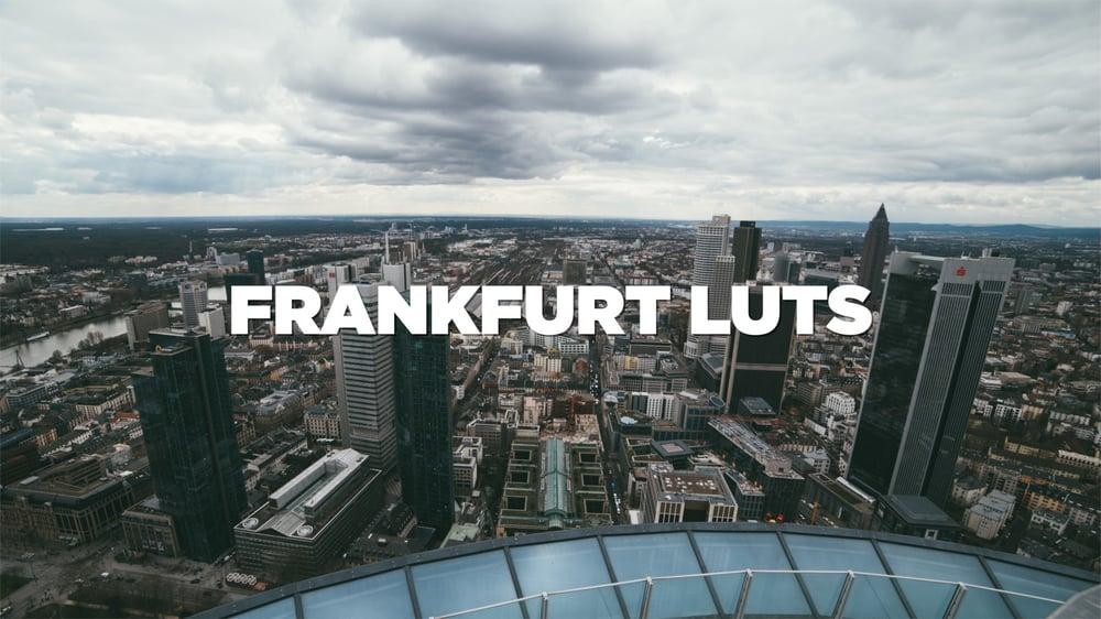 Image of Frankfurt LUTs