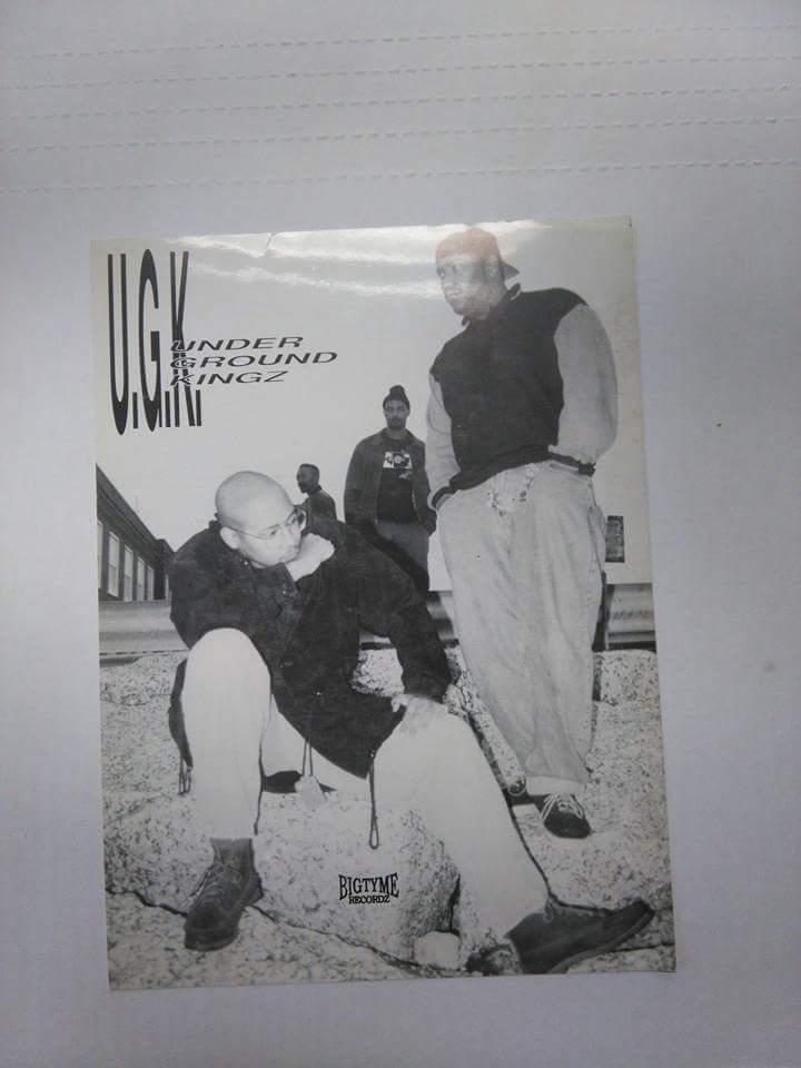 Image of original UGK promo pic
