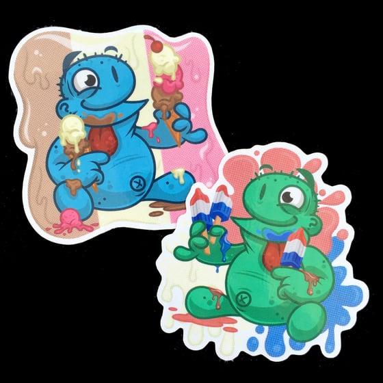 Image of Ice Cream/Popsicle Stickers