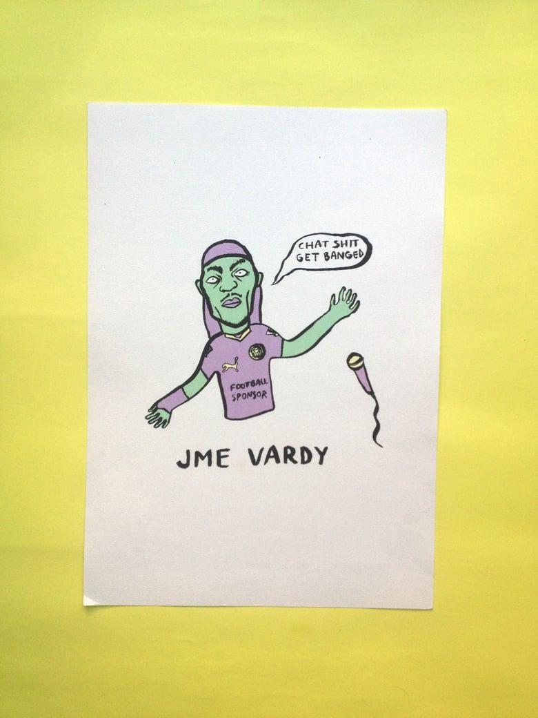 Image of 'Jme Vardy' Print