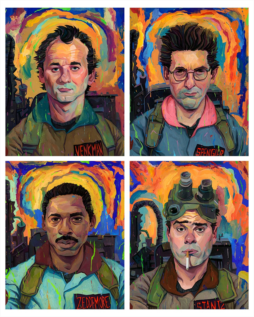 Image of Ghostbusters 16x20 Print