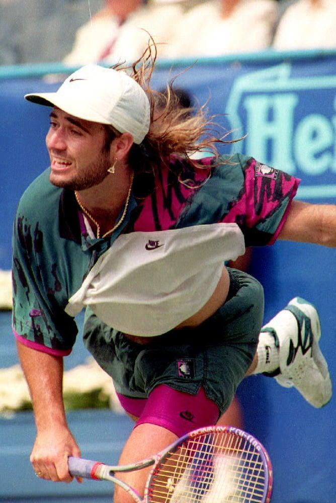 Image of Nike Challenge Court Agassi Vintage 92
