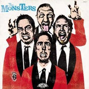 Image of LP. The Monsters : Pop Up Yours.        German edition.
