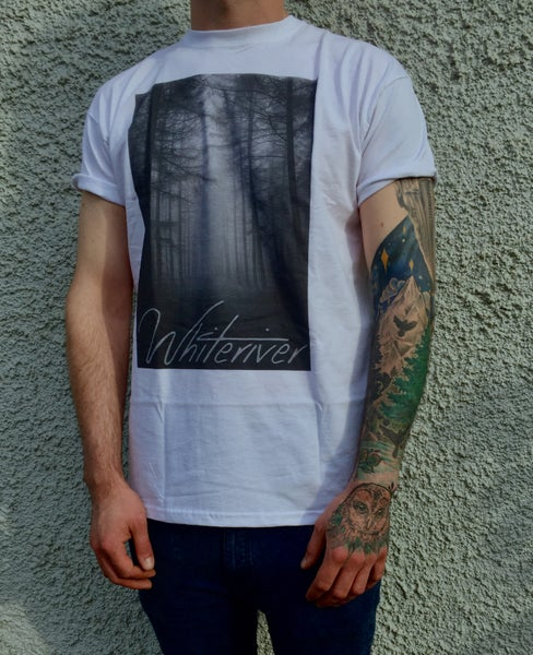 Image of Shirt 'Forest' - white