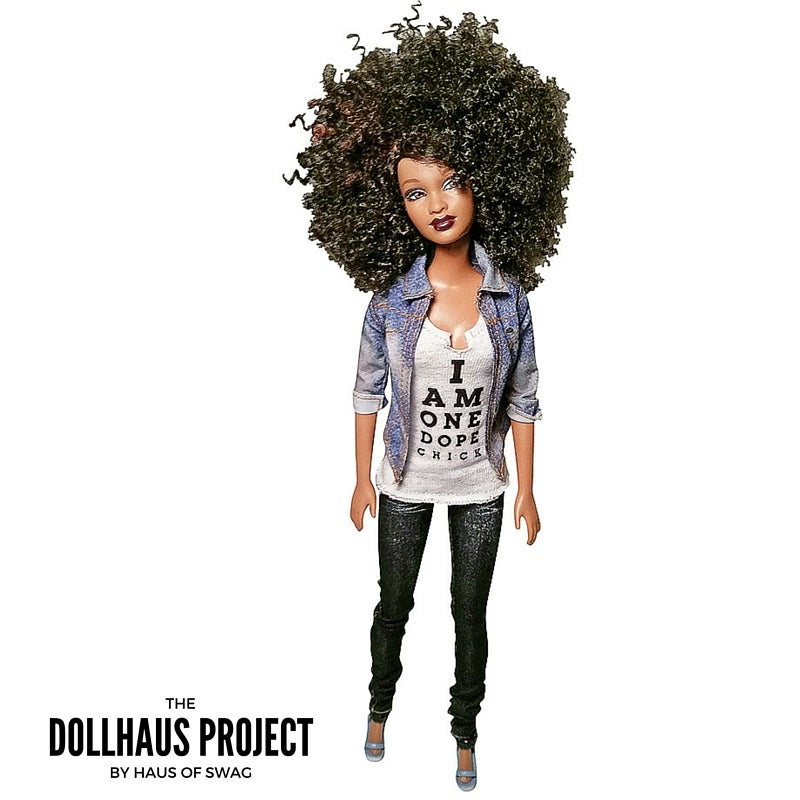 Image of I Am One Dope Chick Fashion Collector Doll