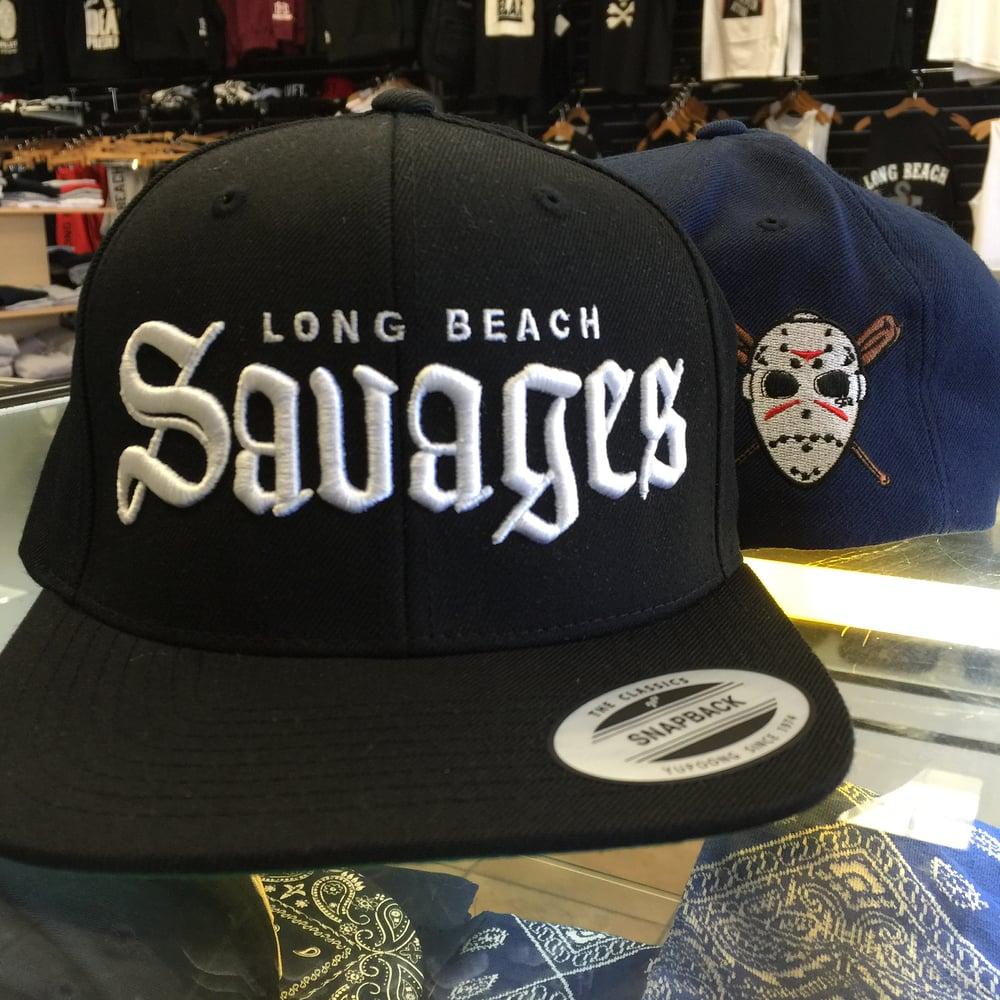 Long Beach Savages Hat   LB SUPPLY CO 6199a60da135