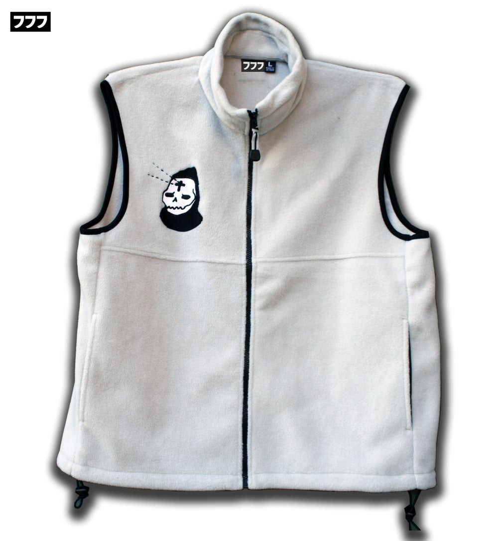 Image of LIGHT + DARK FLEECE VEST