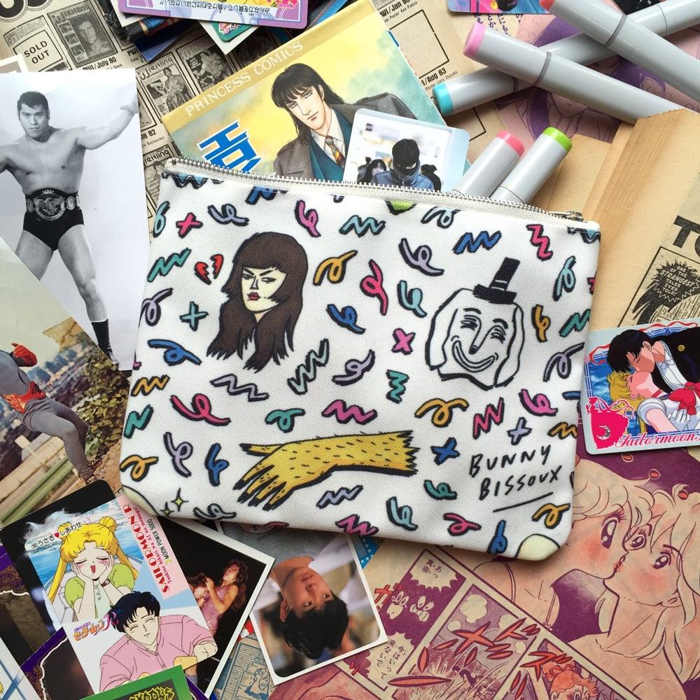 Image of BUNNY BISSOUX - ORIGINAL ZIP POUCH / BAG