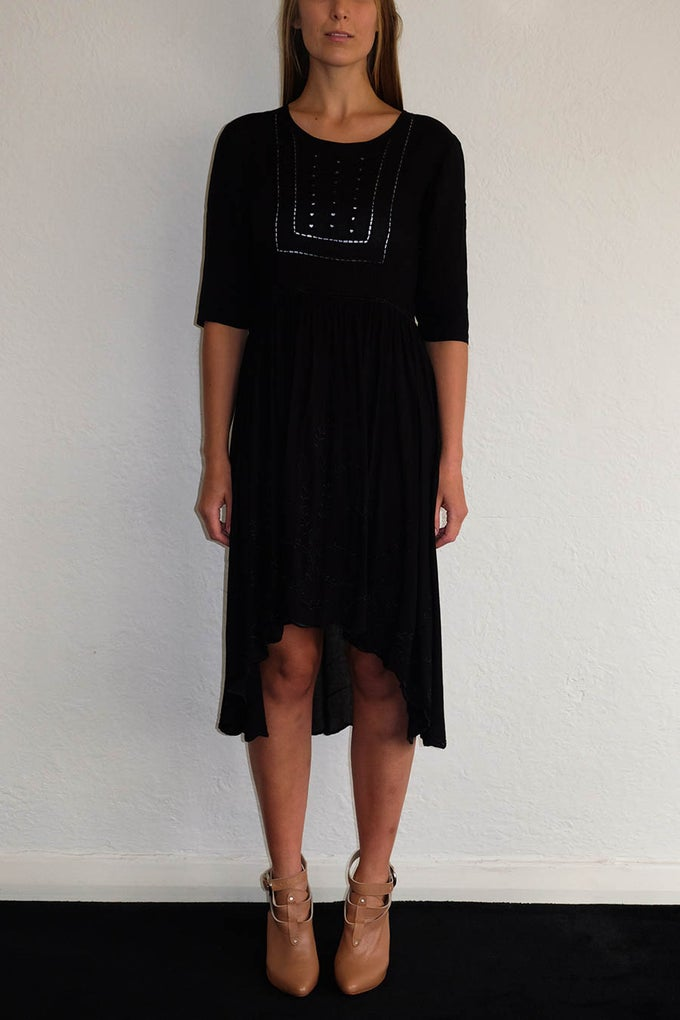 Image of LISA DRESS - BLACK
