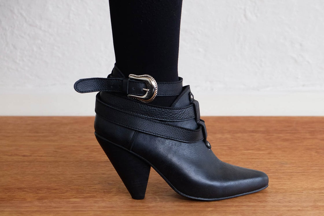Image of RODEO BOOTS - BLACK