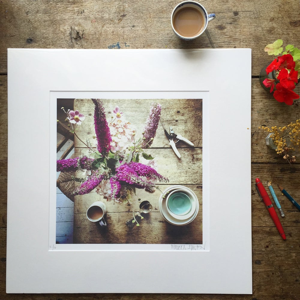 Image of 'Purple Buddleia' LIMITED EDITION, SIGNED PRINT