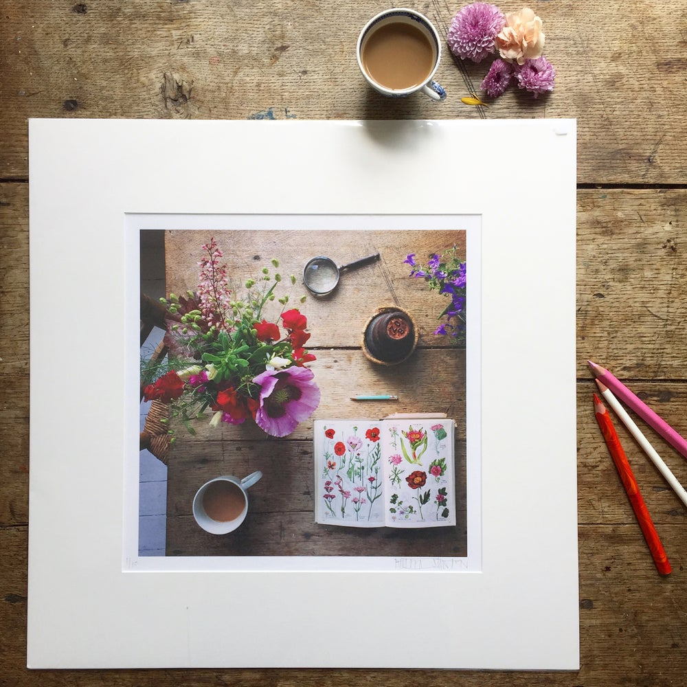 Image of 'Flower Finding' - LIMITED EDITION, SIGNED PRINT