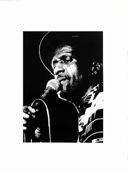 Image of Gregory Isaacs Sérigraphie/Screen-print  50*70 cm