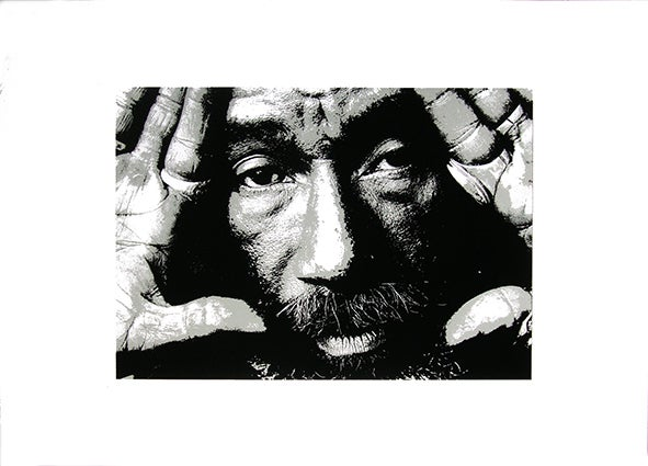 Image of Lee Perry Sérigraphie/Screen-print  50*70 cm