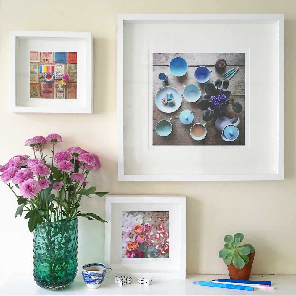 Image of 'Peachy Blooms' LIMITED EDITION, SIGNED PRINT