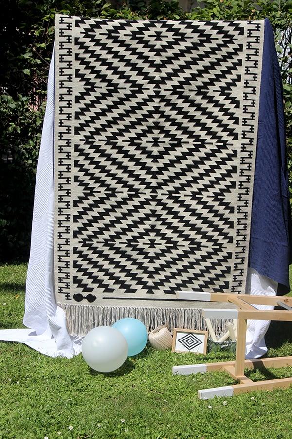 Image of Garibalda kilim rug - Premium Collection