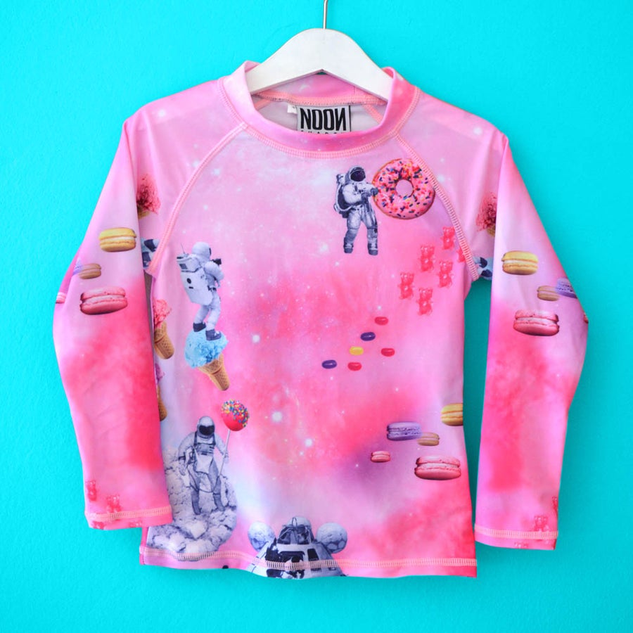 Image of Candy Galaxy Kids Rashie - Long Sleeve