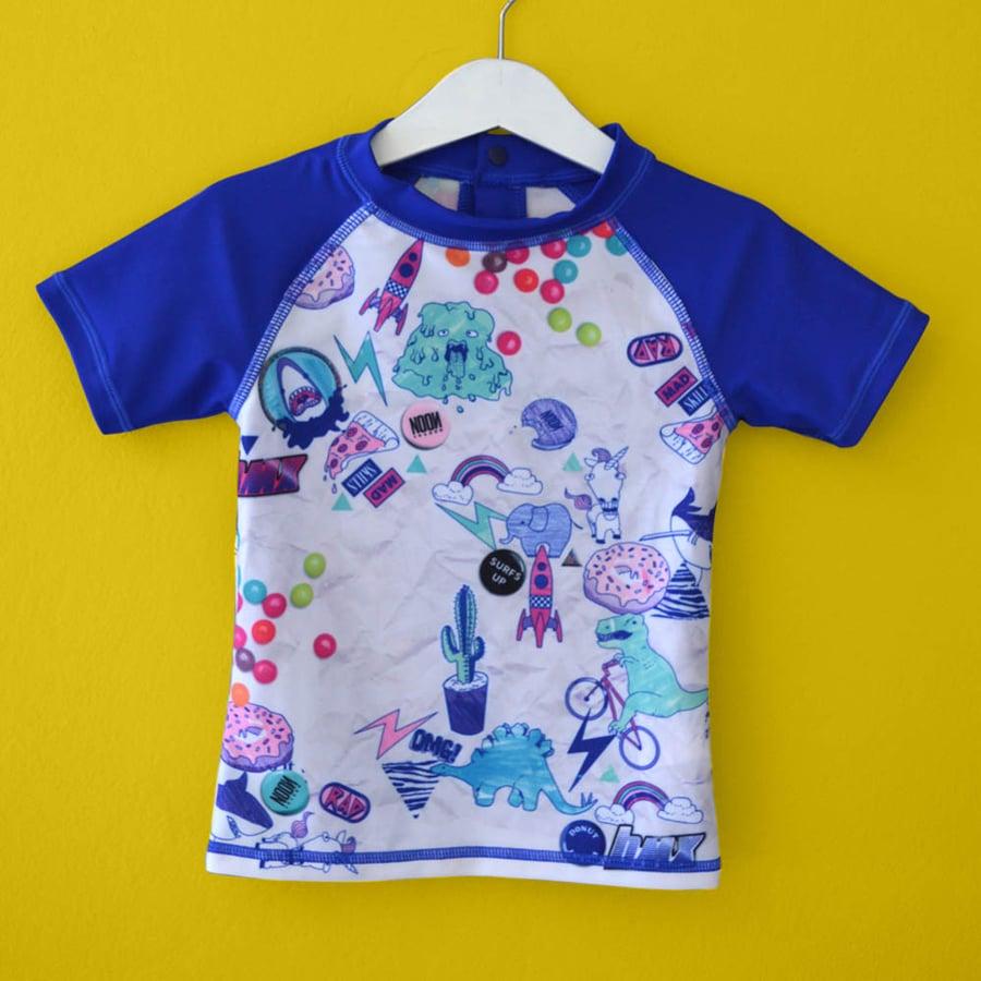 Image of Doodle Bug Kids Rashie - Short Sleeve