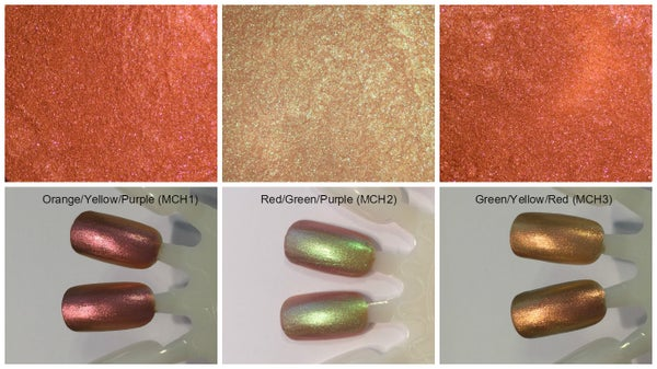 Image of Magnetic Chameleon Pigments <P> 3 Colors Available