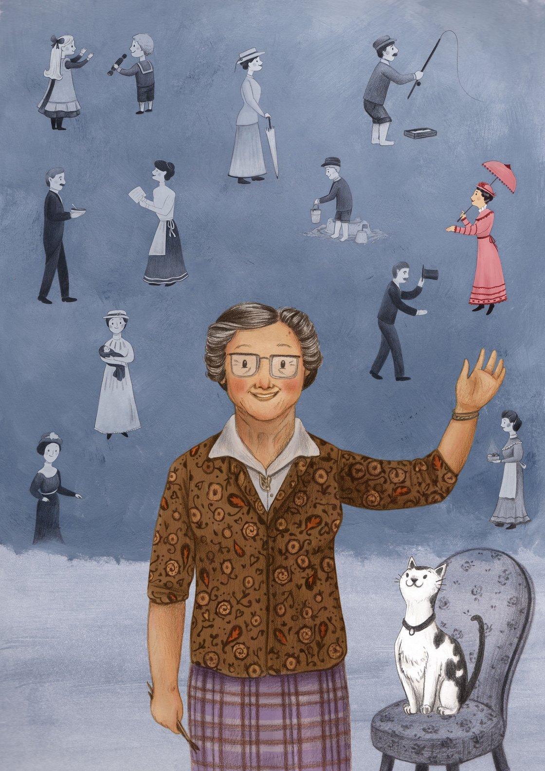Image of Helen Bradley By Emma Reynolds