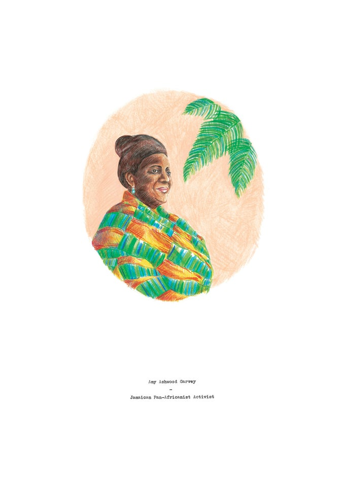 Image of Amy Ashwood Garvey By Memo