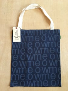 Image of meow tote (navy)