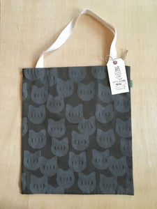 Image of catface tote (olive)