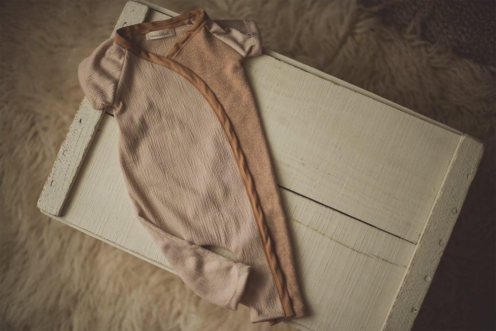 Image of Caramel Snap & Tie Sleeper