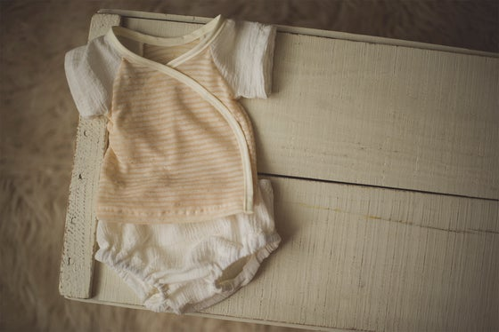 Image of Newborn Boy T-Shirt & Bloomers Set