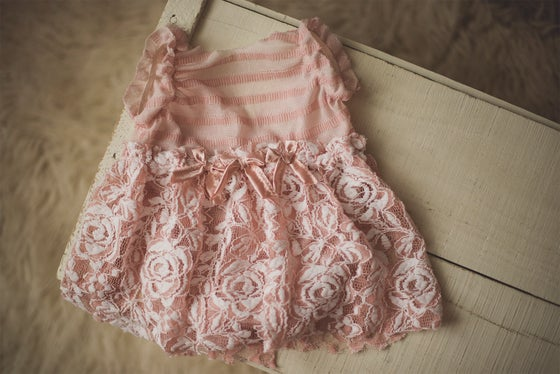 Image of Sitter Skirted Bow Romper