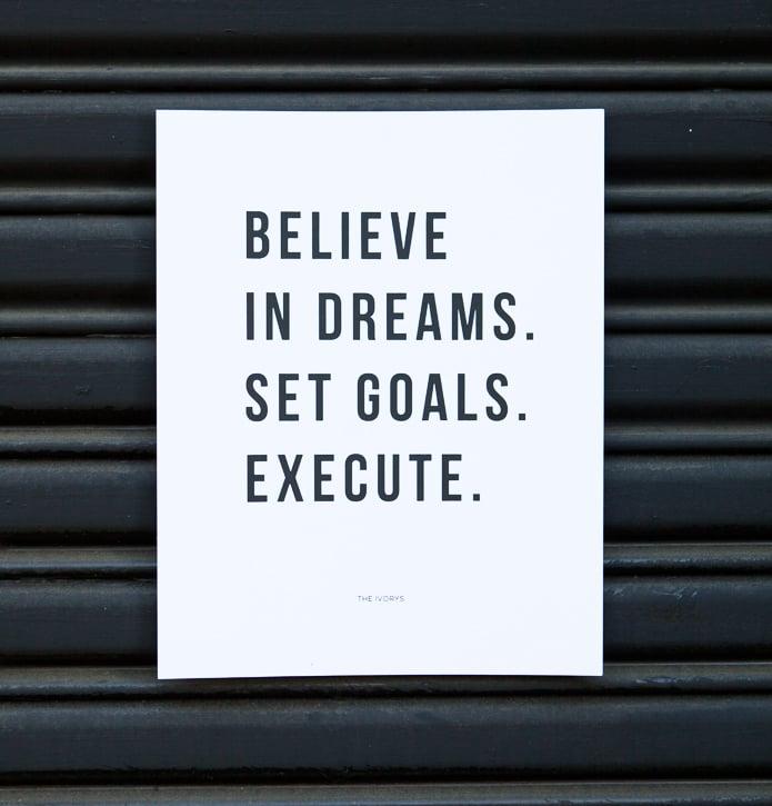 Image of Believe in Dreams Print