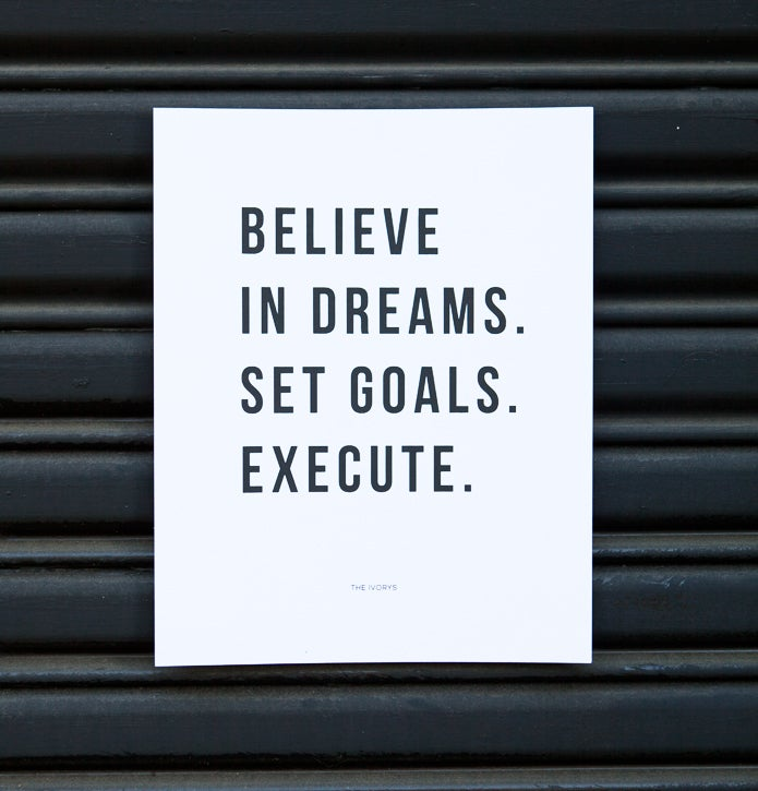 Image of Believe in Dreams Print