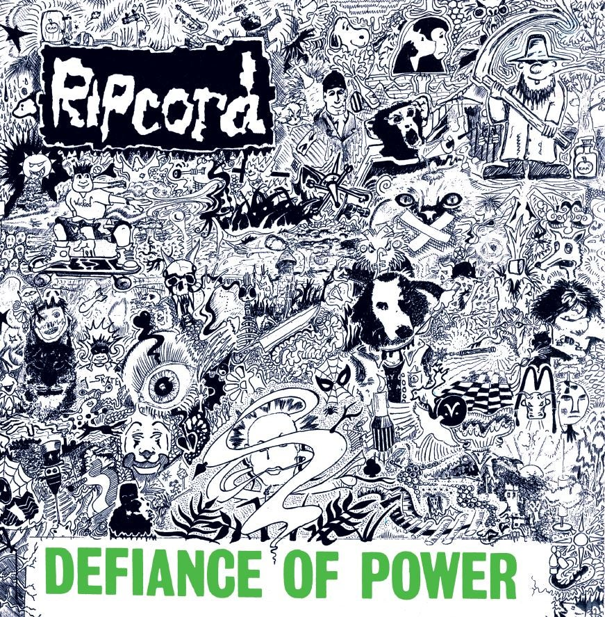 Image of Ripcord - Defiance Of Power (Expanded Version) Ltd Edition Double Coloured Vinyl LP with CD included