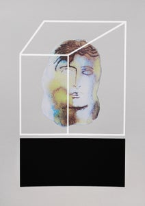 Image of 'Plinth'  Ltd Edition Screenprint by Shonagh Rae