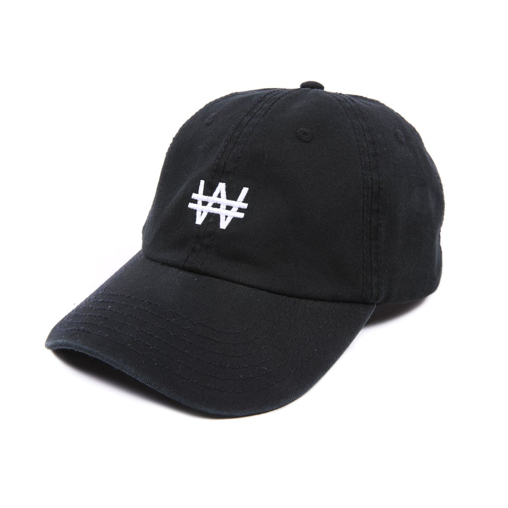 Image of Won Low Profile Sports Cap - Black