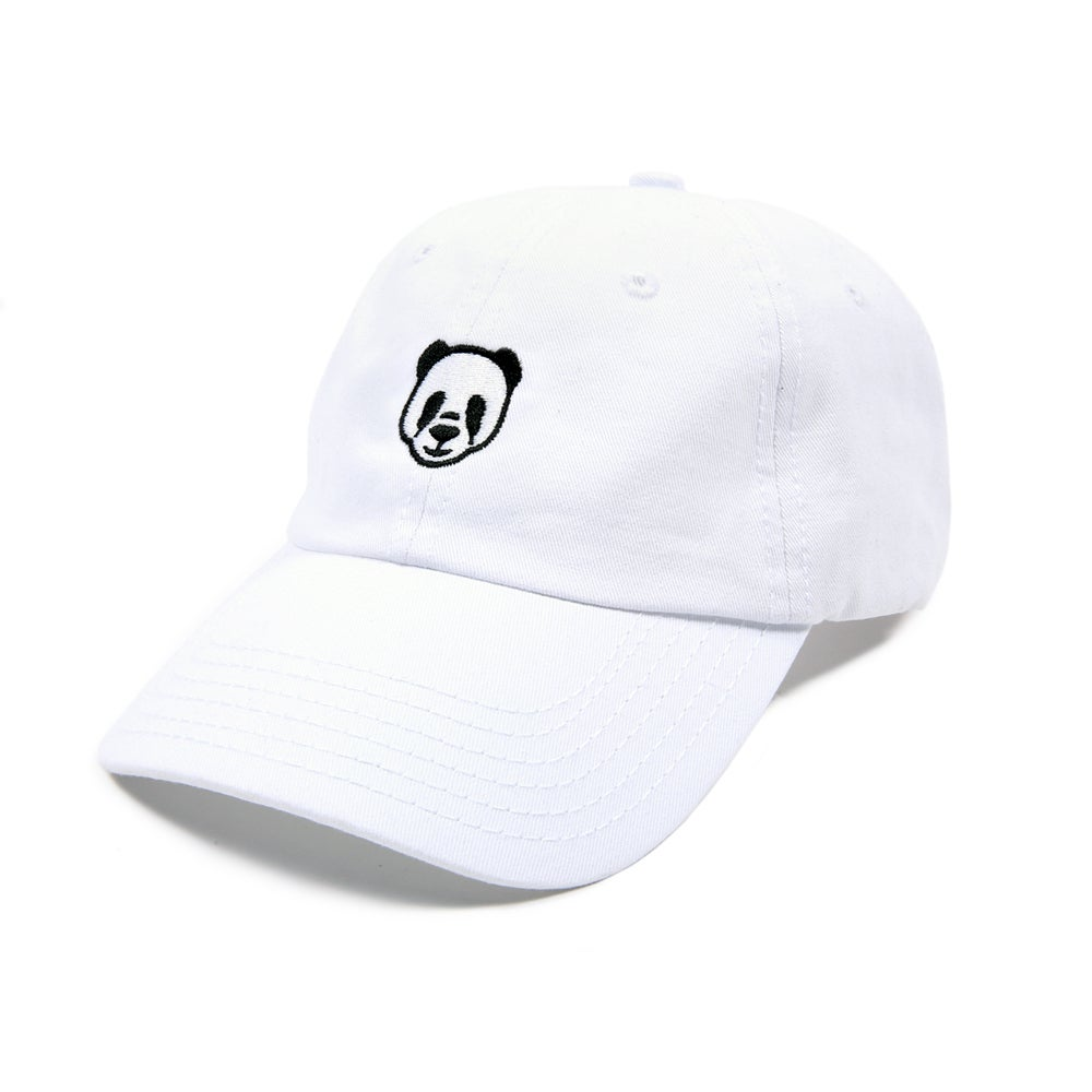 Image of  Panda Low Profile Sports Cap - White