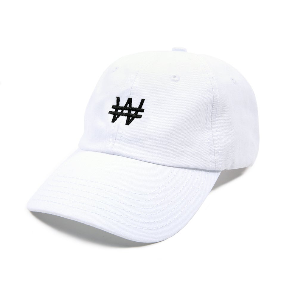 Image of Won Low Profile Sports Cap - White