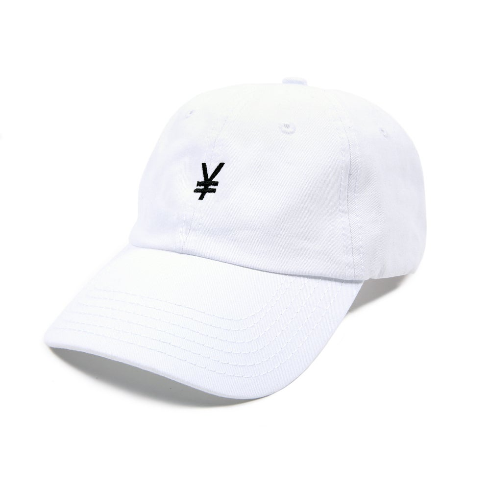 Image of Yen Low Profile Sports Cap - White