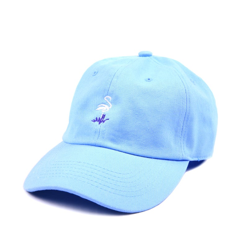 Image of Flamingo Low Profile Sports Cap - Blue