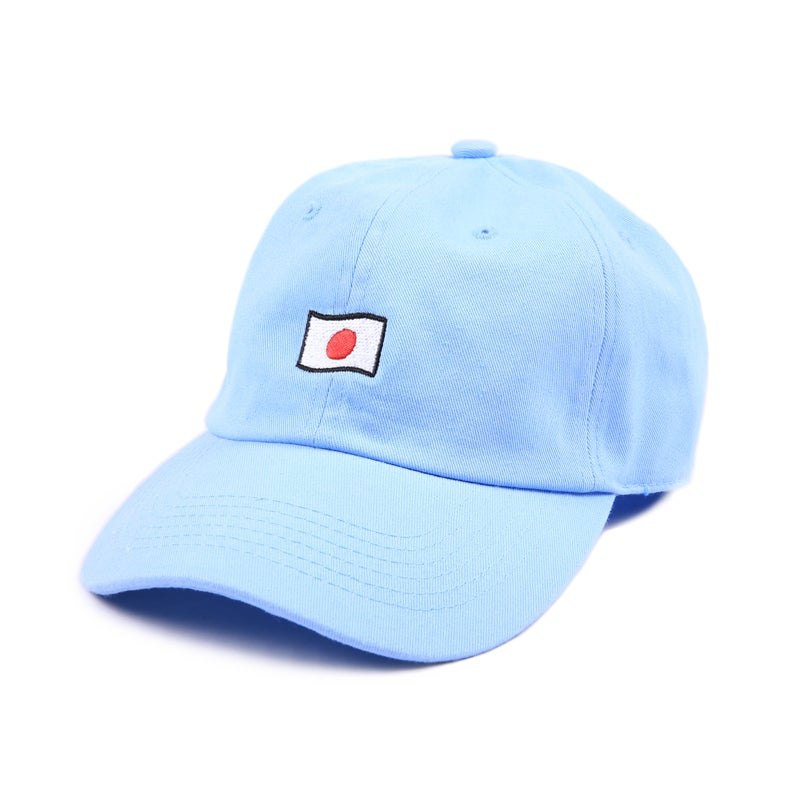 Image of Japan Low Profile Sports Cap - Blue