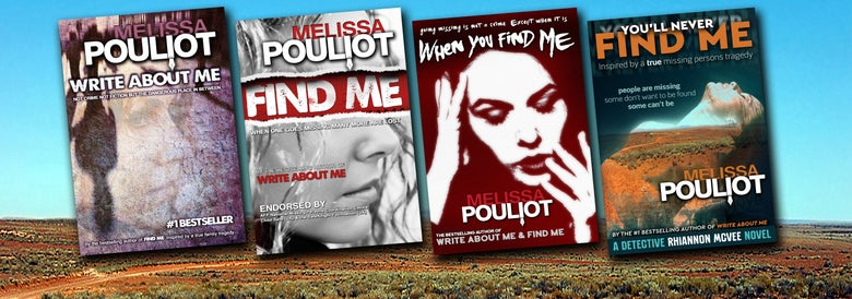 Image of Four book pack (Write About Me, FIND ME, When You Find Me, You'll Never Find Me)
