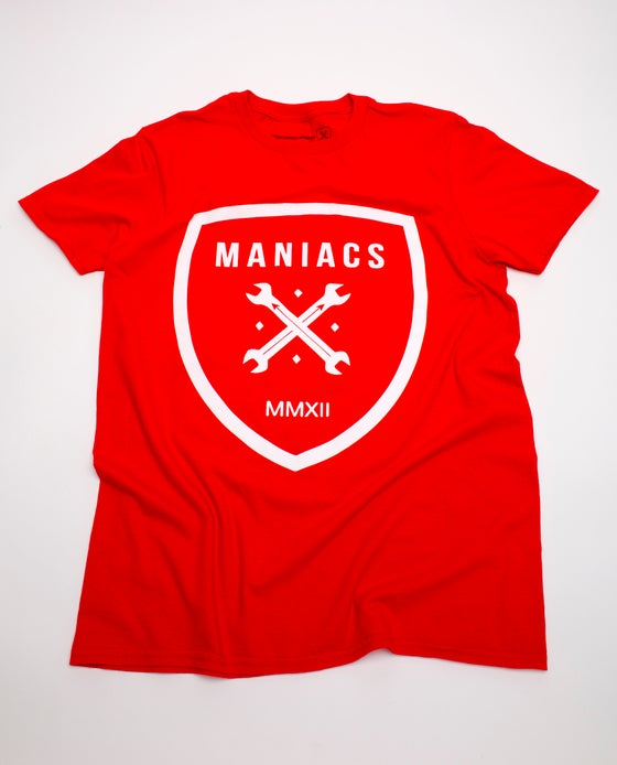 Image of Red Maniacs Logo Tee