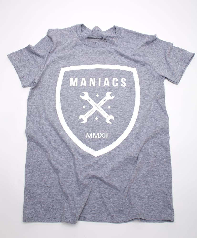 Image of Gray Maniacs Logo Tee!