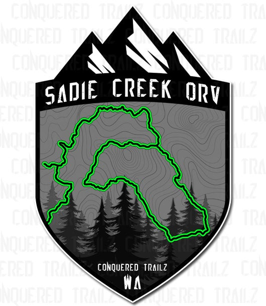 "Image of ""Sadie Creek"" Trail Badge"