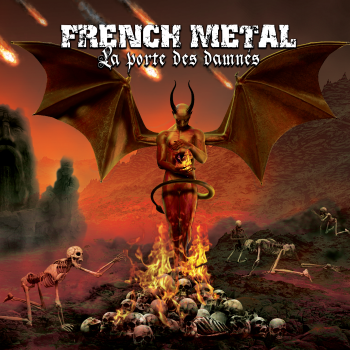 "Image of FRENCH METAL - ""La Porte Des Damnés"", 2xCD Compilation 2016"