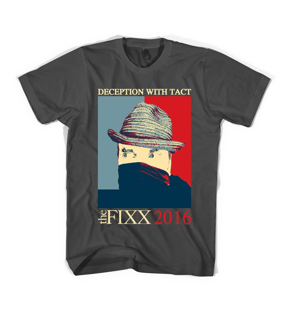 """Image of The Fixx - """"Deception"""" 2016 Tour Tee"""