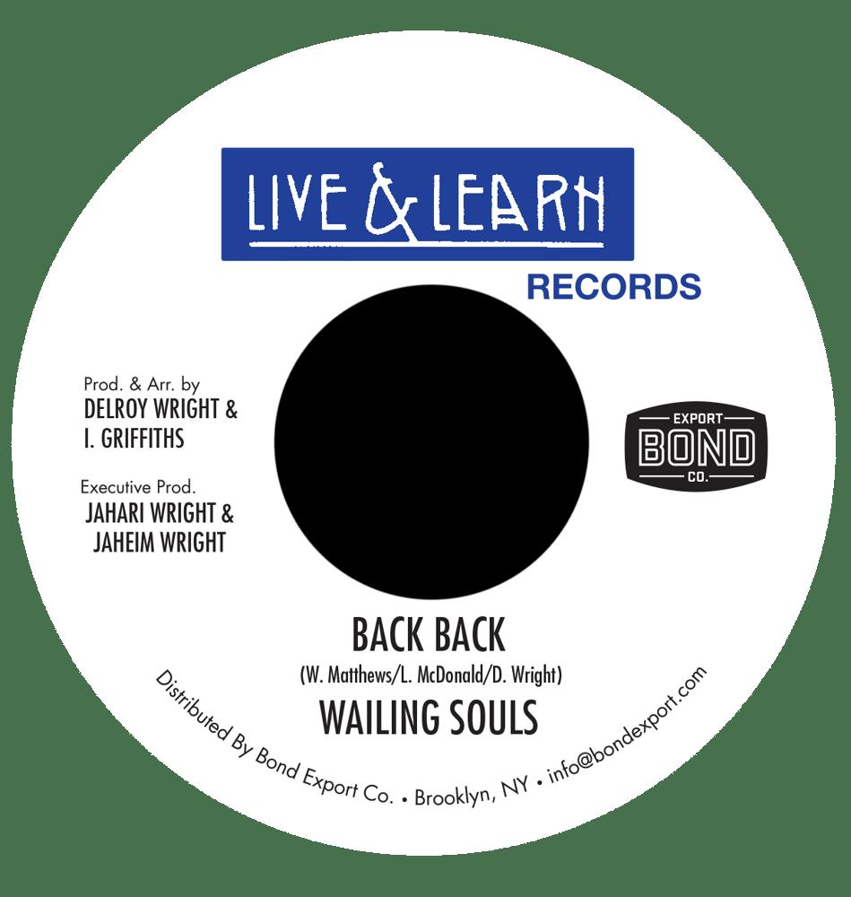 "Image of Wailing Souls - Back Back 7"" (Live & Learn)"