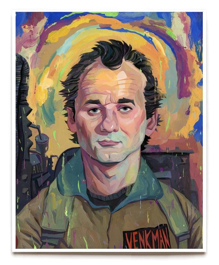 Image of Peter Venkman 11x14 Print