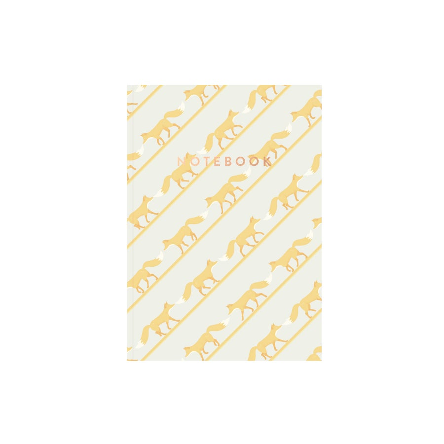 Image of Quinnstripe Notebook (Sundrenched Yellow)